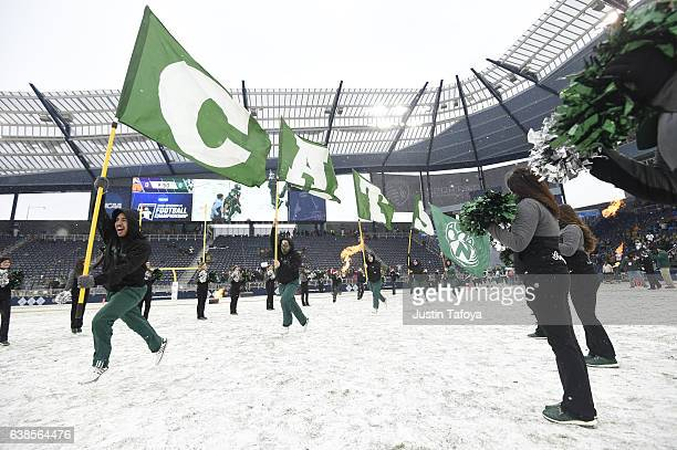 Northwest Missouri State University takes on the University of North Alabama during the Division II Men's Football Championship held at...