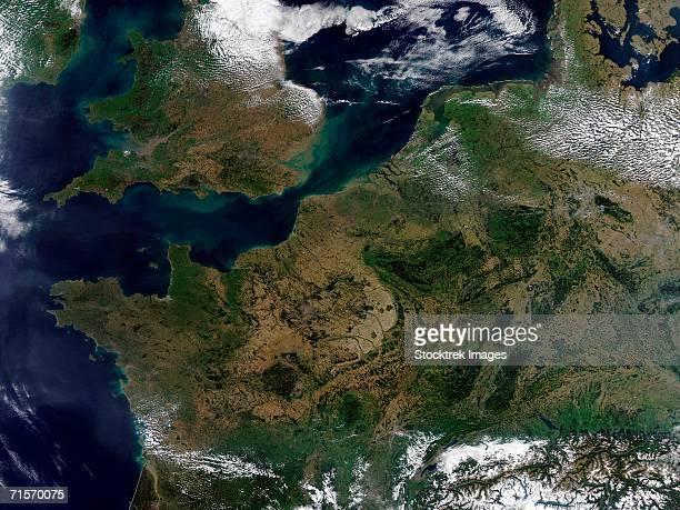 """""""Northwestern Europe., satellite image"""""""