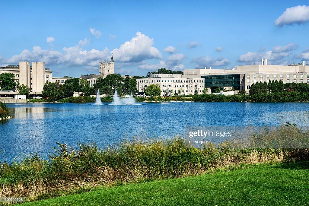 Northwestern University campus : Stock Photo