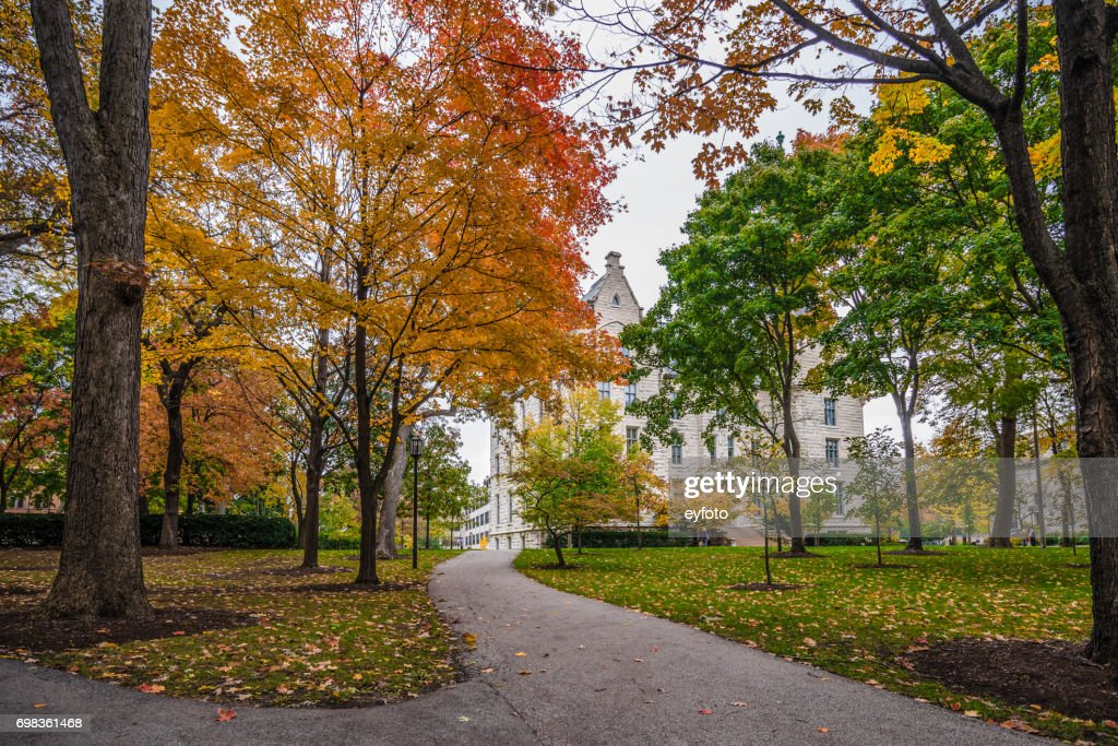Northwestern University Campus : Stock Photo
