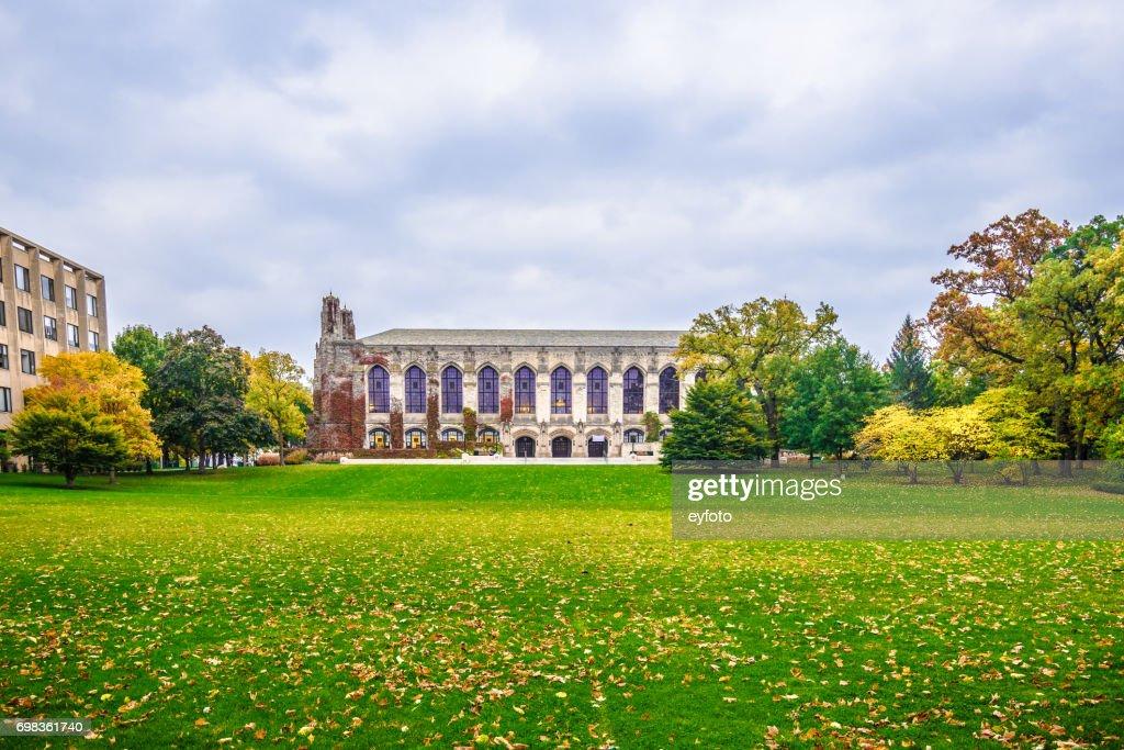 Northwestern University Deering Library : Stock Photo