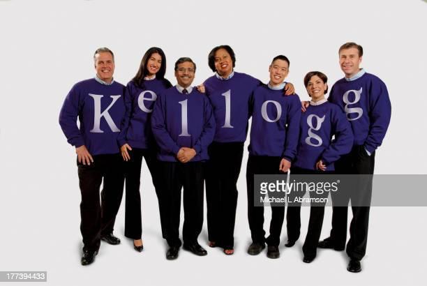 Northwestern University's Kellogg Executive Education Program : Michael Booth , Vanessa Borchers , Dipak Jain , Victoria Halloway , Ronald Hashimoto...