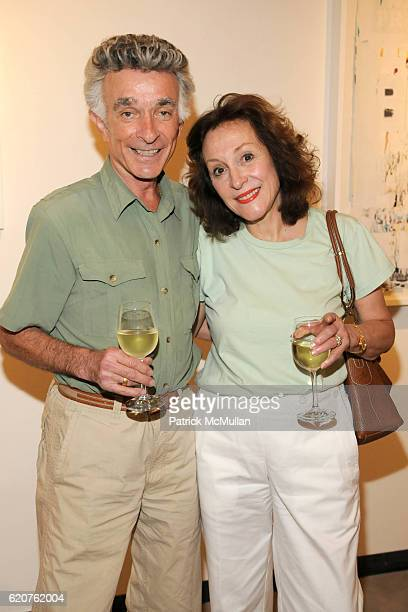 Norty Eisenberg and Janet Eisenberg attend previewCRUSH for the ASPEN ART MUSEUM at Baldwin Gallery on July 31 2008 in Aspen CO