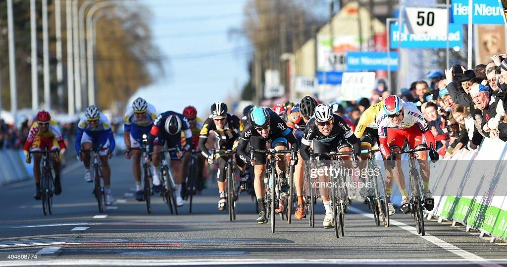 CYCLING-BEL-KUURNE-BRUSSELS-RACE : ニュース写真