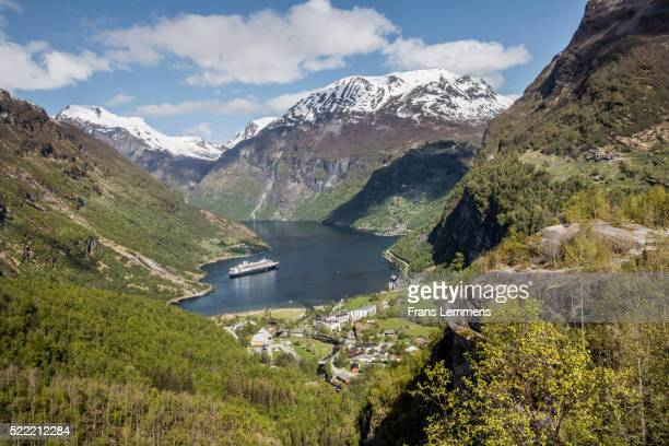 Norway, Geiranger, Geiranger Fjord