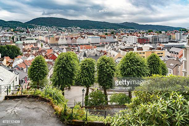 Norway, Hardaland, Bergen, cityscape