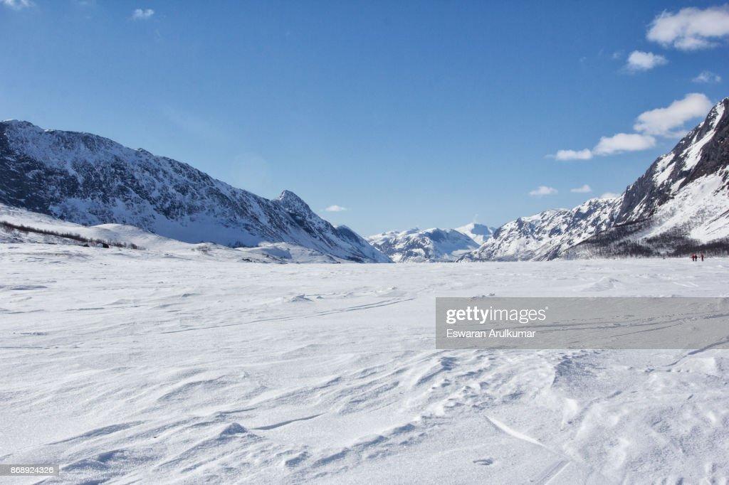 Norway in winter : Stock Photo