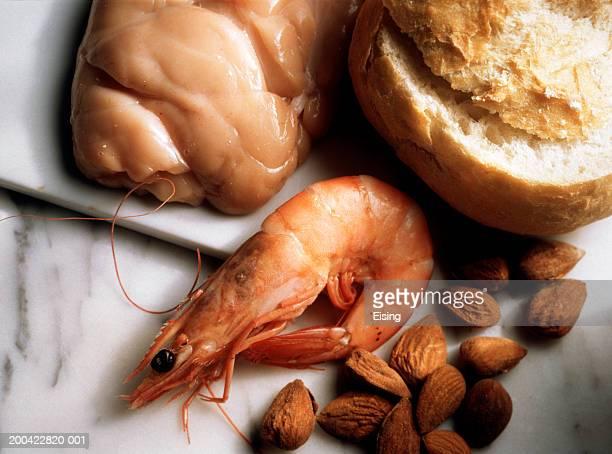 Norway Lobster; Sweetbread; Almonds & Bread Roll