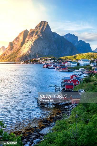 Norway, Lofoten Islands, Moskenesoy, Reine