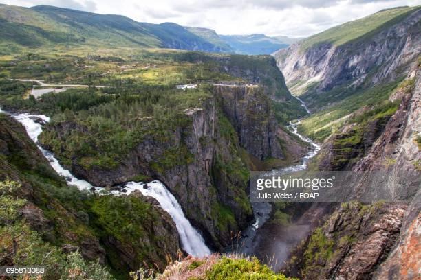 Norway, Mabodalen Eidfjor, Voringsfossen waterfall