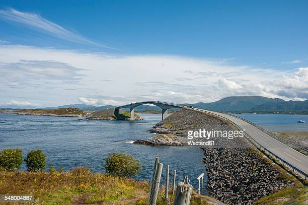 Norway, More og Romsdal, Atlantic Ocean Road