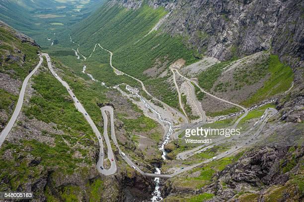 Norway, More og Romsdal, Rauma, Trollstigen road