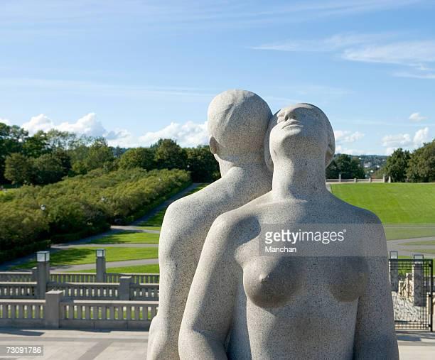 Norway, Oslo, Vigeland sculptures in Frogner Park