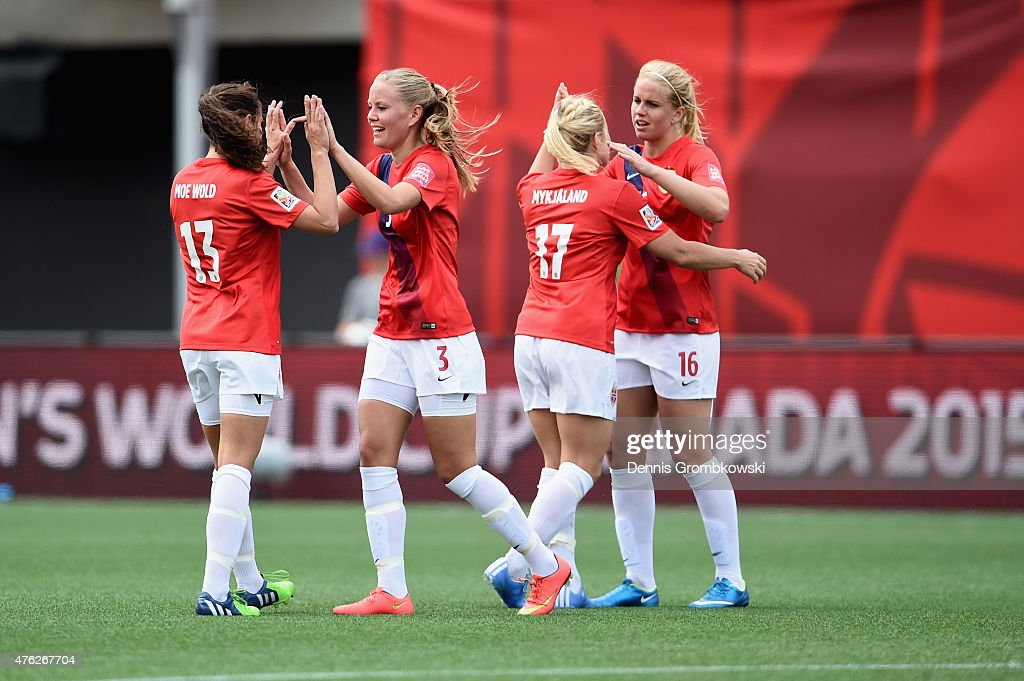 Norway v Thailand: Group B - FIFA Women's World Cup 2015 : News Photo
