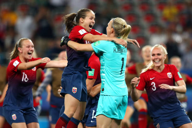 FRA: Norway v Australia: Round Of 16  - 2019 FIFA Women's World Cup France