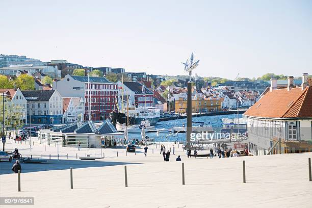 norway, stavanger city - スタバンゲル ストックフォトと画像