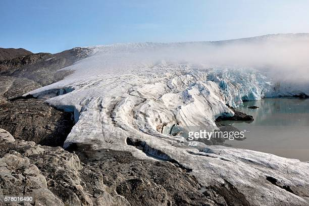 Norway Svalbard Islands Spitsbergen Island Glacier