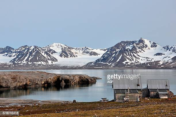 Norway Svalbard Islands Spitsbergen Island Nylondon Village