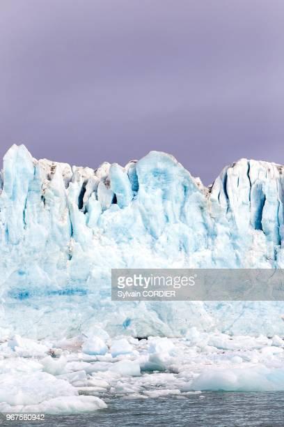 Norway Svalbard Spitsbergen Lilliehk Glacier in Krossfjorden