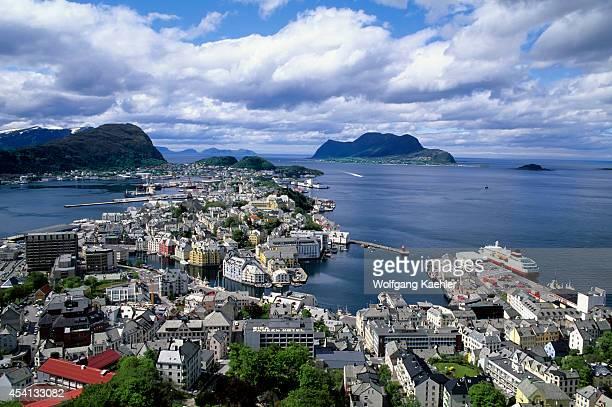 Norway View Of Alesund