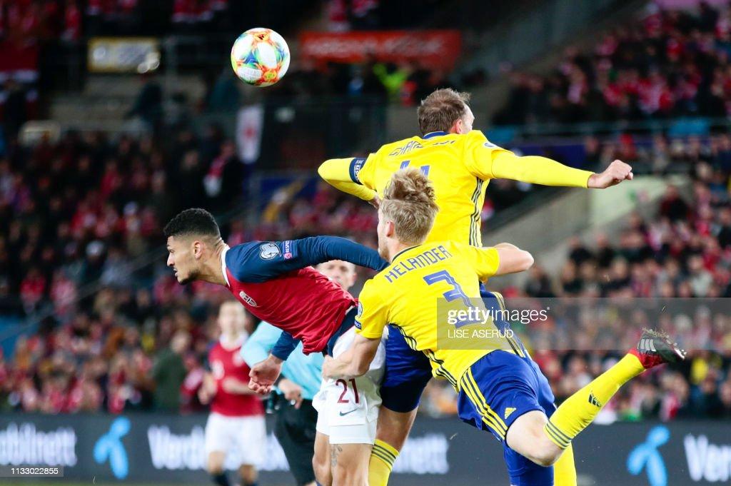 NOR: Norway v Sweden - UEFA EURO 2020 Qualifier