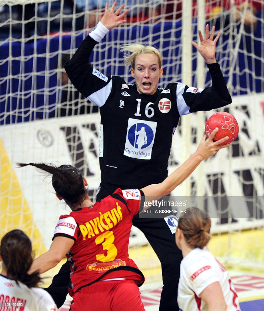 Norway S Goalkeeper Katrine Lunde Haraldsen Looks At The Ball Of News Photo Getty Images
