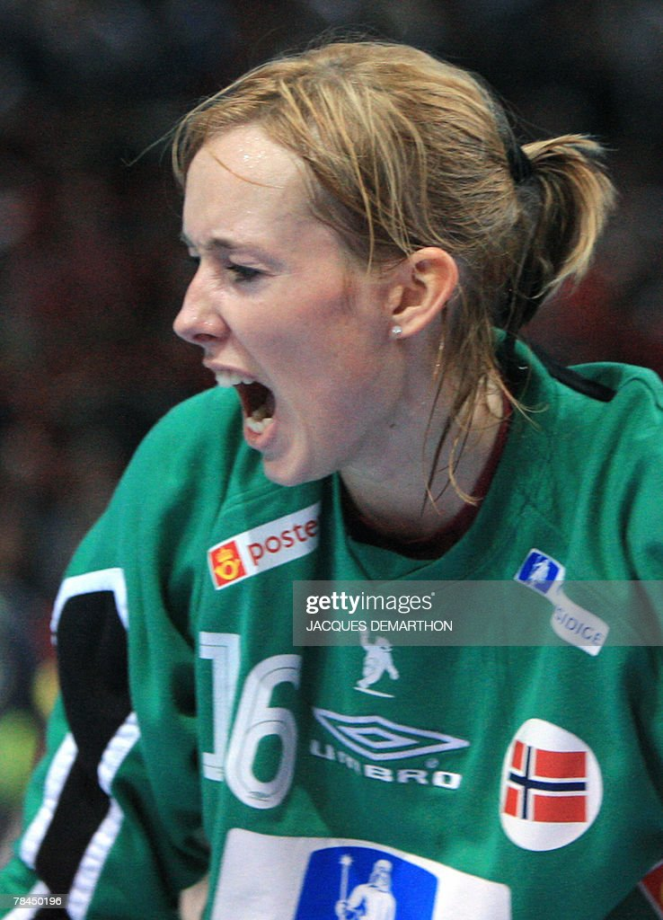 Norway S Goalkeeper Katrine Lunde Haraldsen Reacts After A Stop News Photo Getty Images