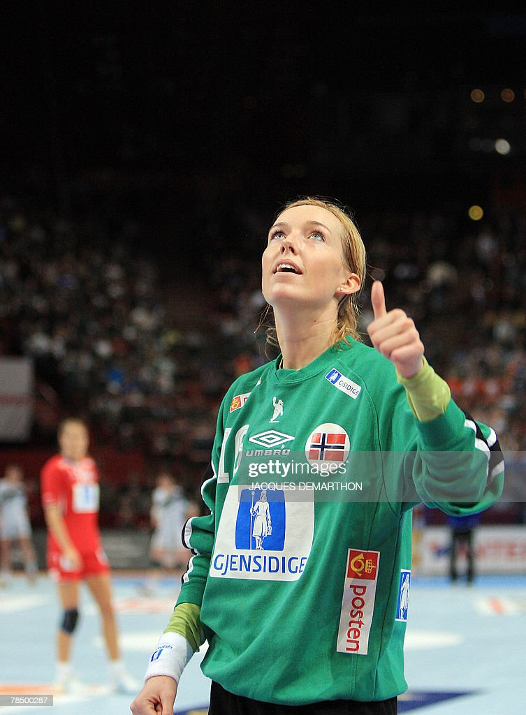 Norway S Goalkeeper Katrine Lunde Haraldsen Reacts During The Women News Photo Getty Images