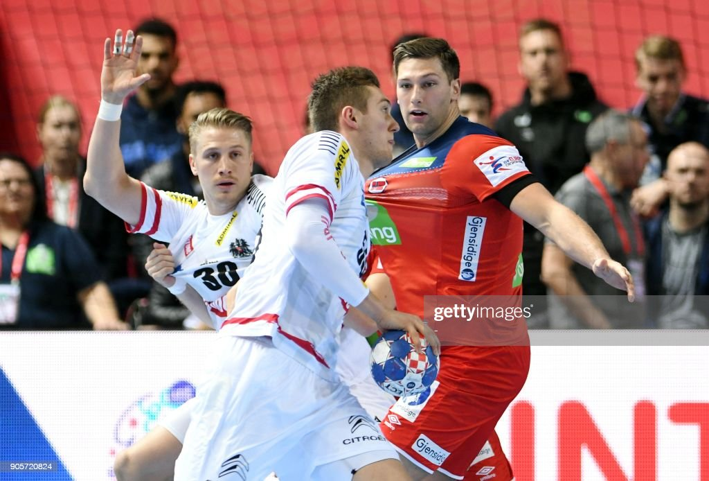 Norway vs Austria - European Handball Championship