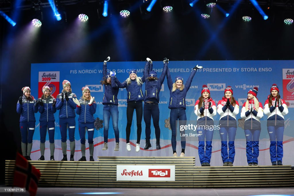 FIS Nordic World Ski Championships - Medal Ceremony : News Photo