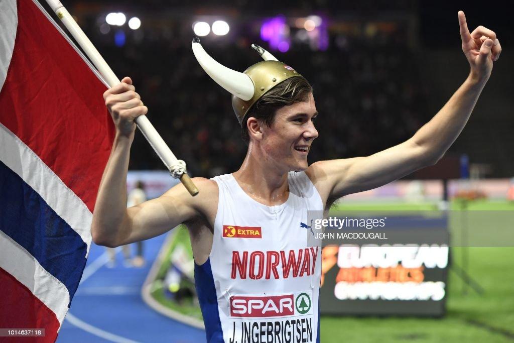ATHLETICS-EURO-2018-MEN-1500M : News Photo