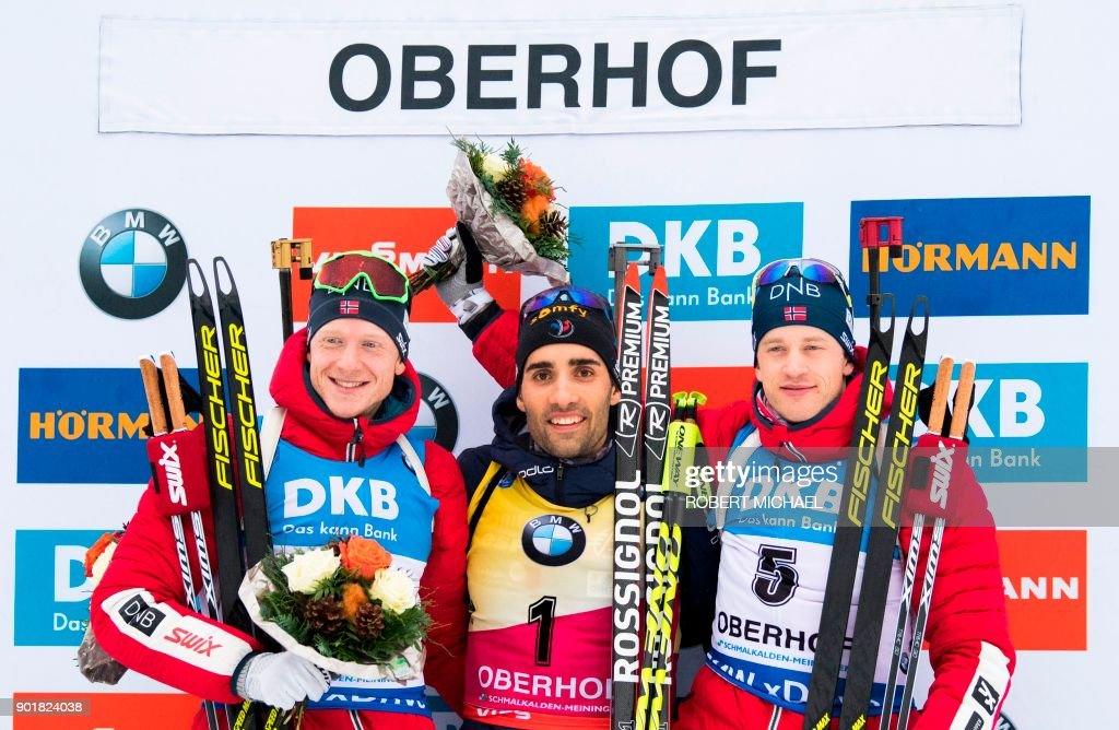 BIATHLON-WC-MEN-PURSUIT : News Photo