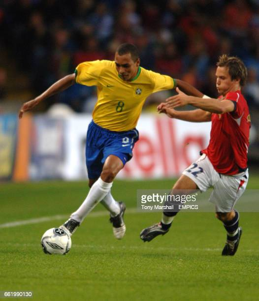 Norway's Kristofer Haestad and Brazil's Gilberto