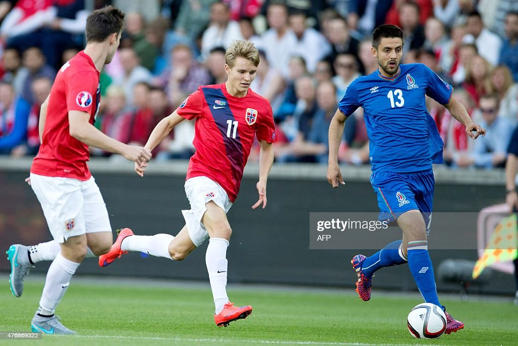 FBL-EURO-2016-NOR-AZE : News Photo