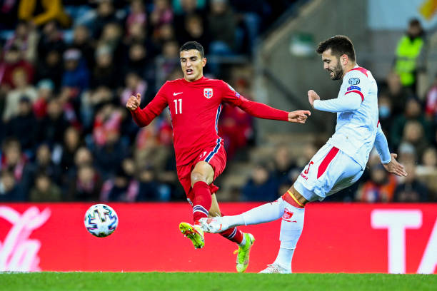 UNS: Norway v Montenegro - 2022 FIFA World Cup Qualifier