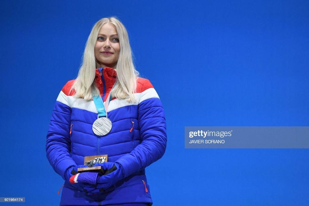 ALPINE SKIING-OLY-2018-PYEONGCHANG-MEDALS : News Photo