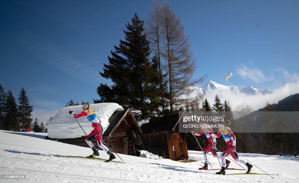 NORDIC-SKI-WORLD-WOMEN-CROSS-COUNTRY : News Photo