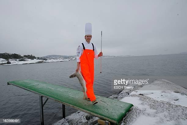 Norwegian Che Geir Skeie Wins The Bocuse D'Or 2009 Mercredi 4 février 2009 à Asnes au bord du fjord Sandefjord le jeune chef norvégien Geir SKEIE qui...