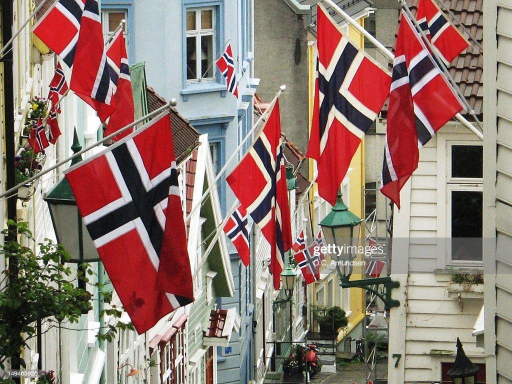Norwegian Constitution Day : Stock Photo