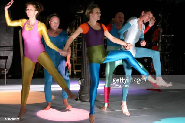 A Norwegian dance group Baktruppen performing 'UnDoThree' at PS 122 on Saturday night December 3 2005The performance is part of PS 122's 'Norway in...