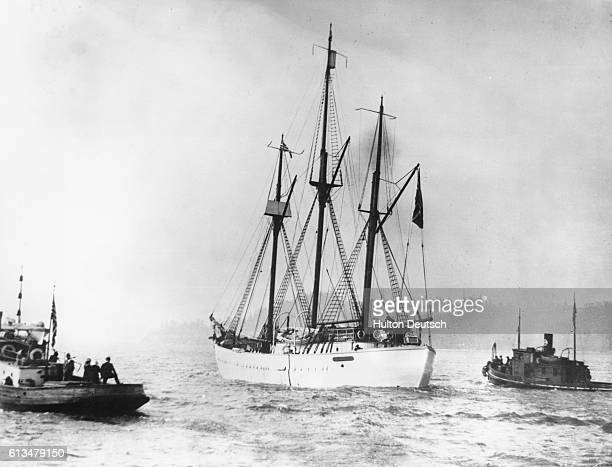 Norwegian explorer Roald Engelbrecht Amundsen was the first to navigate the Northwest Passage and reach the South Pole Amundsen's ship Maud lost for...