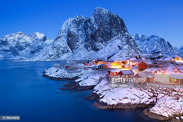 The island of Hamnøy, Norway