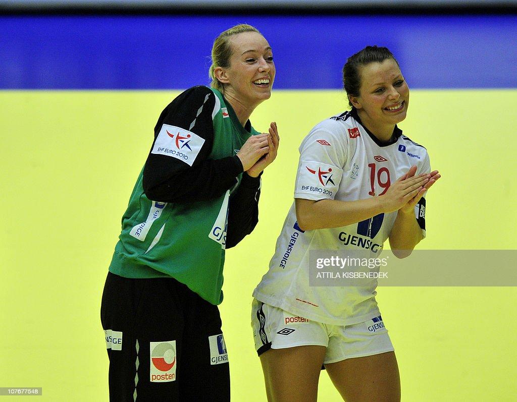 Norwegian Goalkeeper Katrine Lunde Haraldsen And Nora Mork Dance News Photo Getty Images