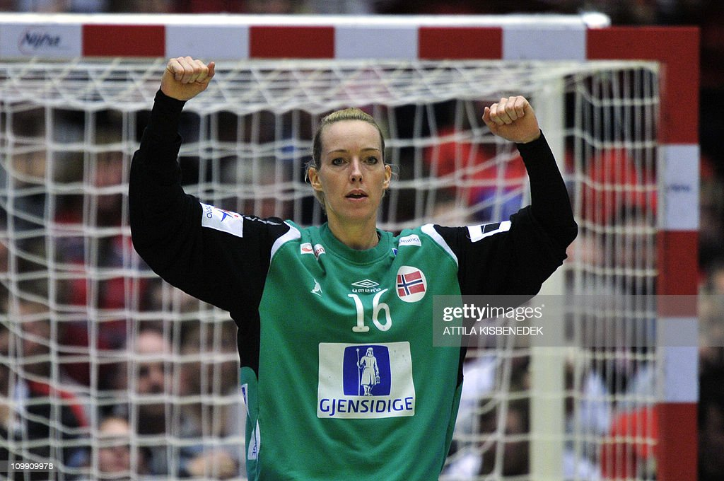 Norwegian Goalkeeper Katrine Lunde Haraldsen Reacts During The 9th News Photo Getty Images