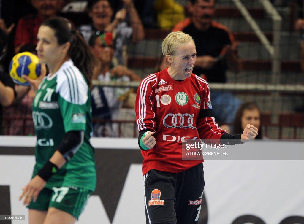 Norwegian Katrine Lunde Haraldsen Of Hungarian Kc Audi Eto Gyor News Photo Getty Images