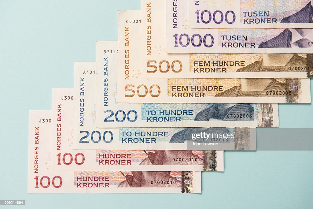 Norwegian Currency Stock Photos And Pictures Getty Images