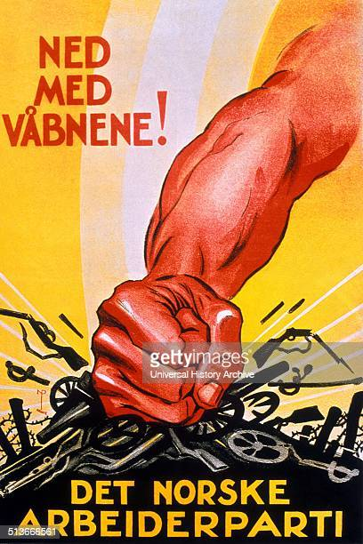 Norwegian Labour Party propaganda No more war The Labour Party and its youth section were antimilitarist The 1917 communist Russian Revolution had a...