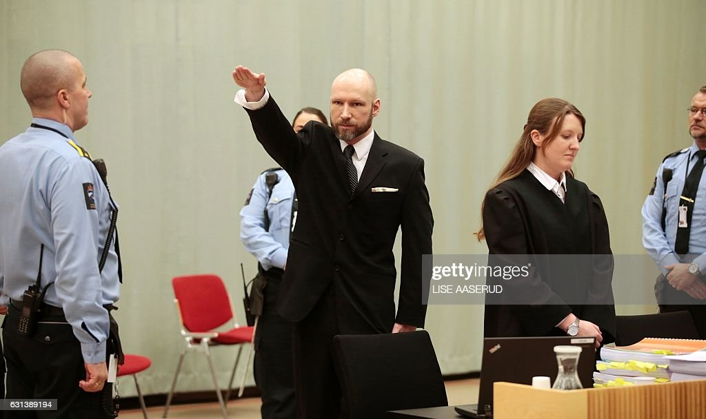 NORWAY-ATTACKS-BREIVIK-RIGHTS-TRIAL : News Photo