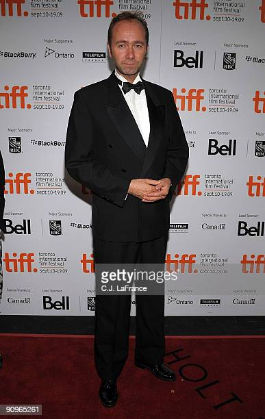 Norwegian Minister of Culture Trond Giske attends the 'Max Manus' premiere held at Roy Thomson Hall during the 2009 Toronto International Film...