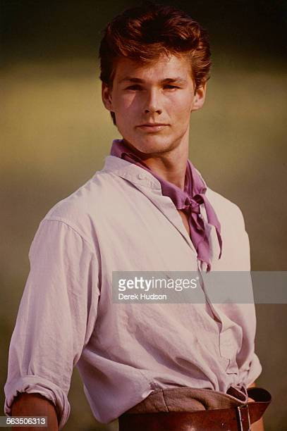 Norwegian musician Morten Harket of the pop group Aha in his role as Christoffer in the Norwegian film 'Kamilla og tyven II' directed by Grete...